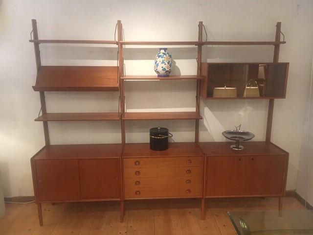 F 573 Poul Cadovius Wall Unit, Wall Unit Furniture